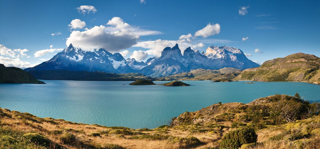 Lake Pehoe at Torres del Paine National Park