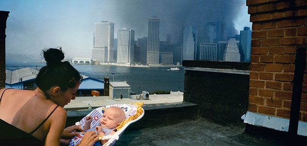 Brooklyn rooftop September 11