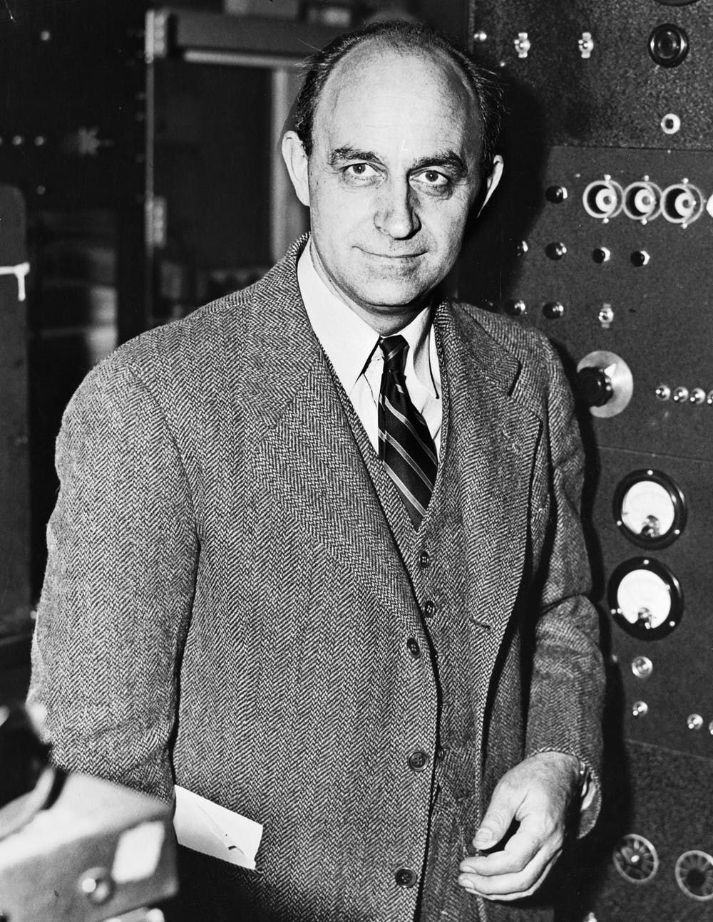 Nobel Prize winner Enrico Fermi led the project