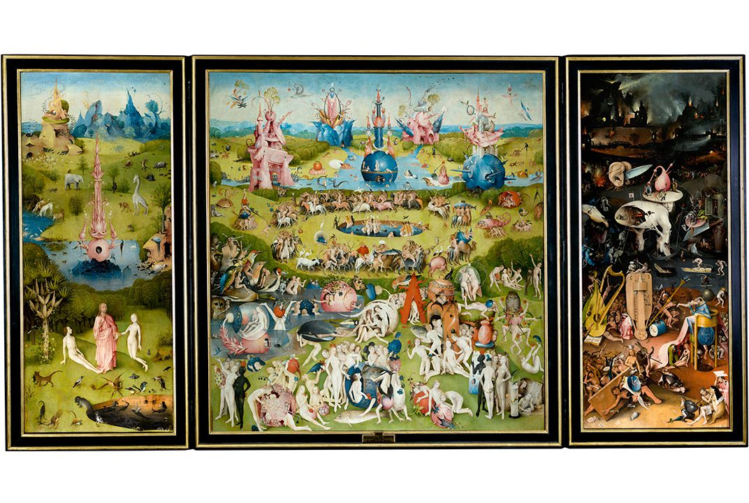 Even 500 years after his death hieronymus bosch hasn t for Bosco el jardin de las delicias