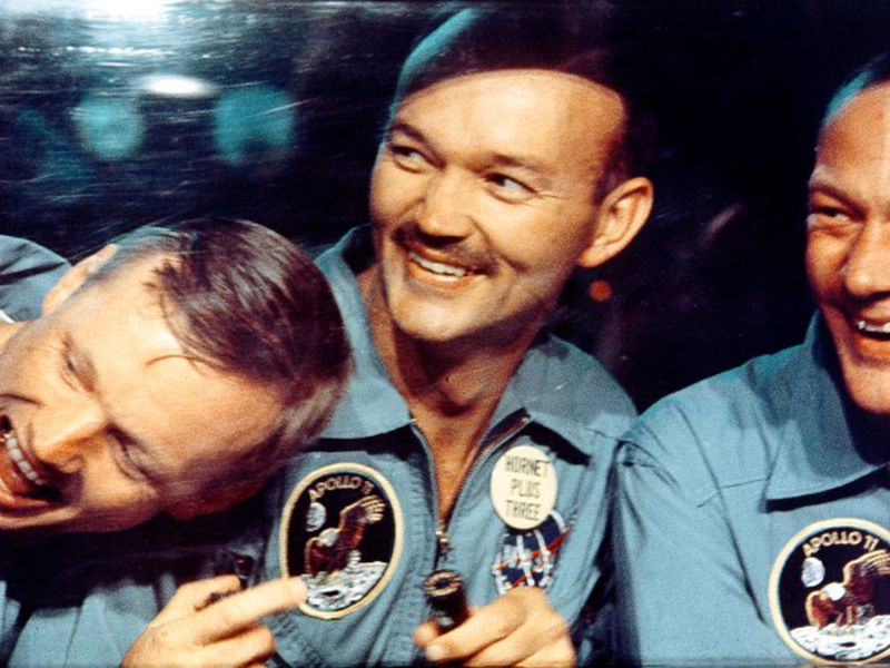 Armstrong, Collins and Aldrin
