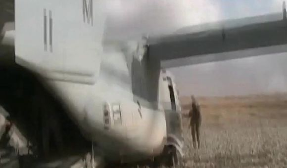 Preview thumbnail for video'Ospreys Over Afghanistan
