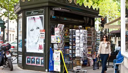 Parisians Are in an Uproar Over Their New Newstands