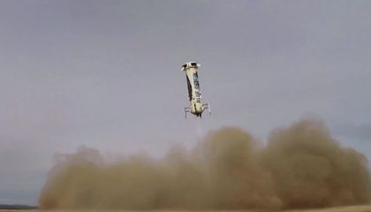 Blue Origin Sticks the Landing