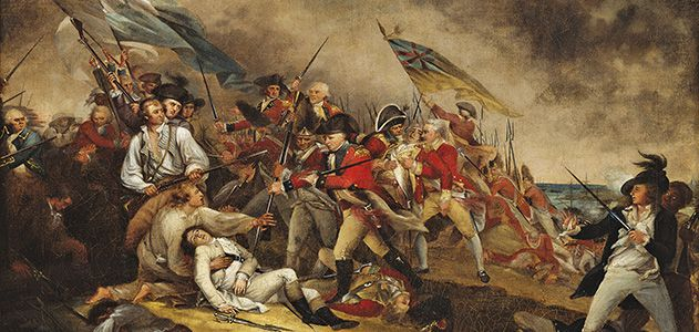 What Was The First Battle Of The Revolutionary War >> The True Story Of The Battle Of Bunker Hill History Smithsonian