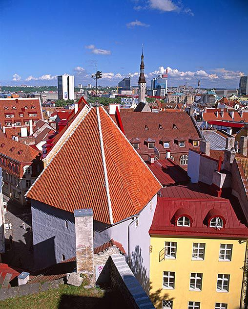 Old town Tallinn Estonia
