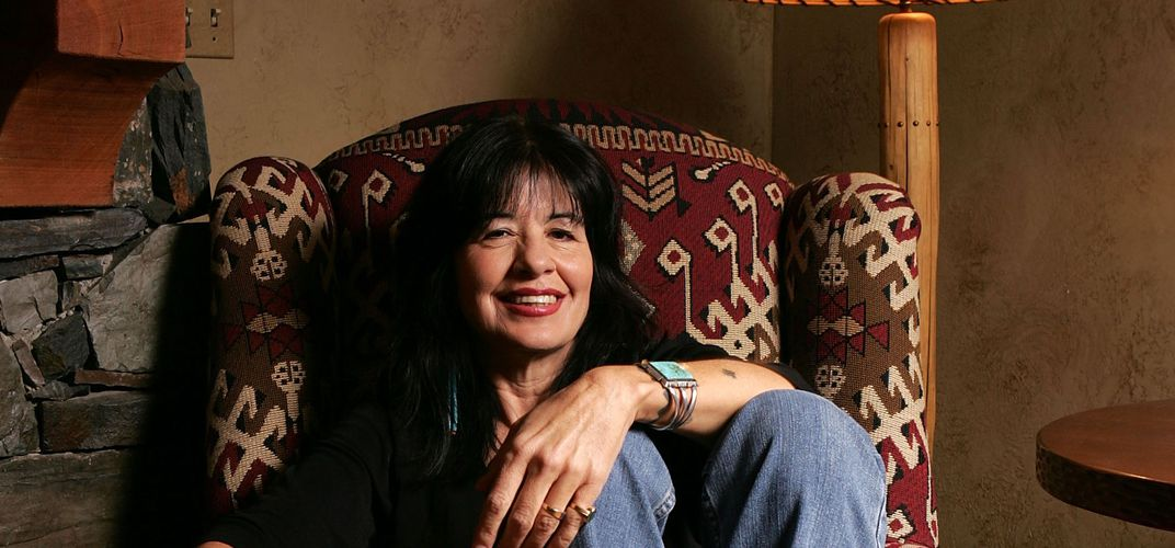 Caption: Joy Harjo's New Poetry Centers Native Issues