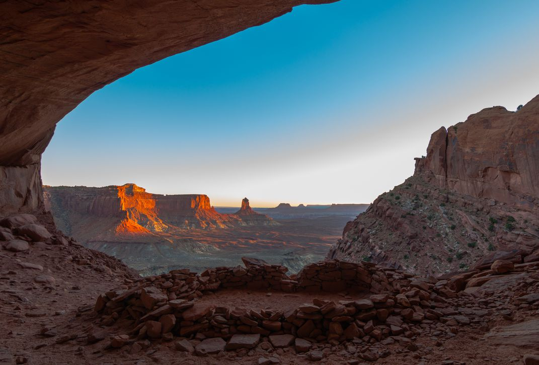 Sunset At False Kiva In Canyonlands National Park Smithsonian - The incredible winners of the 14th smithsonian photo competition