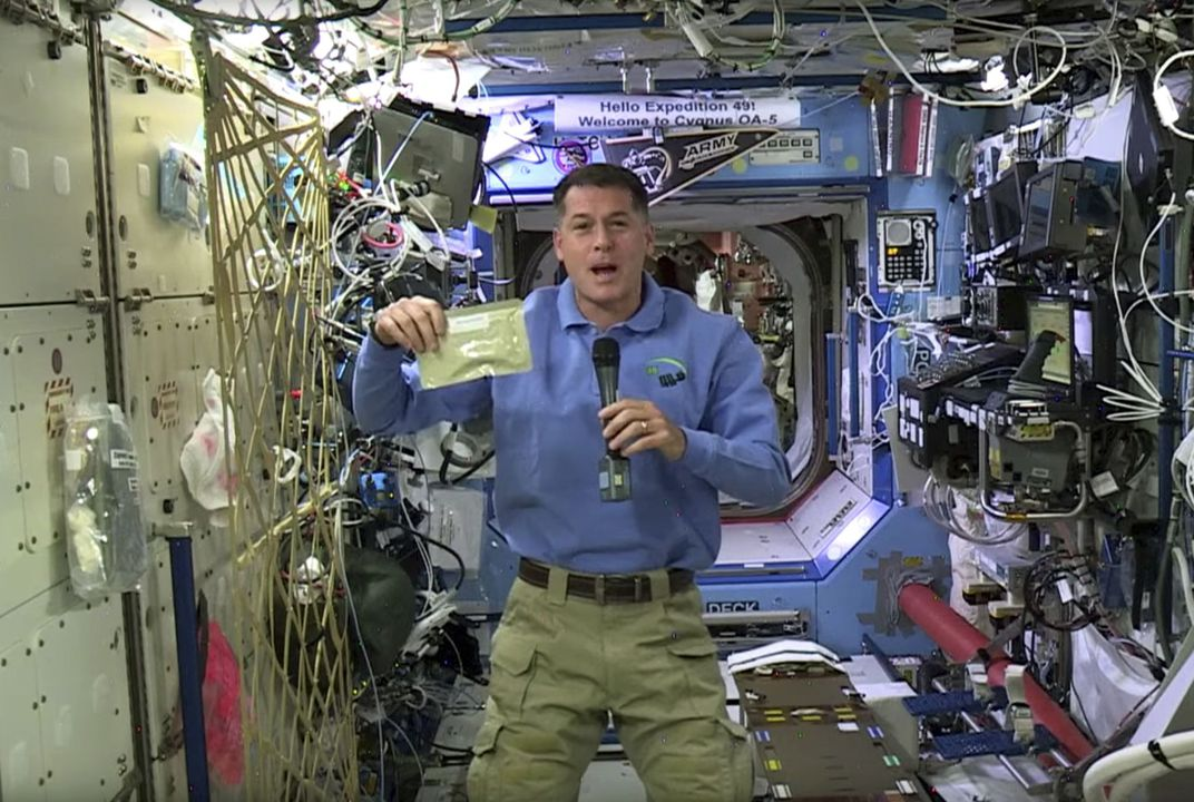 How'd you like to spend Thanksgiving in space?
