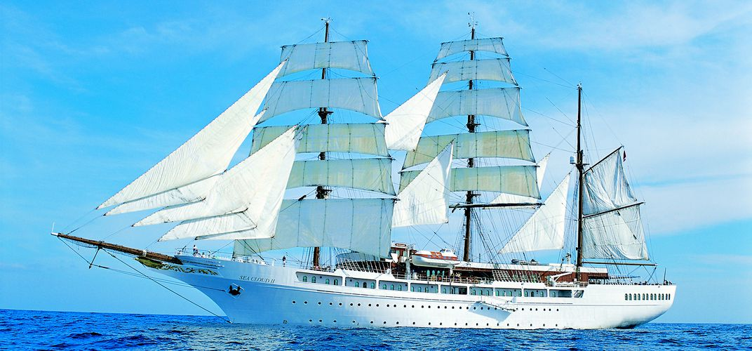 The magnificent <i>Sea Cloud II</i>