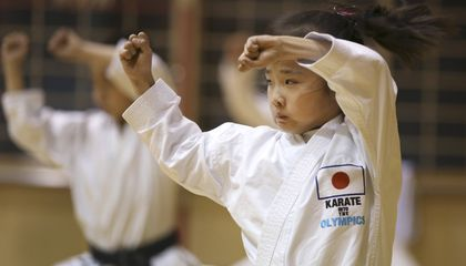 "Image: Mahiro Takano is real life ""Karate Kid"""