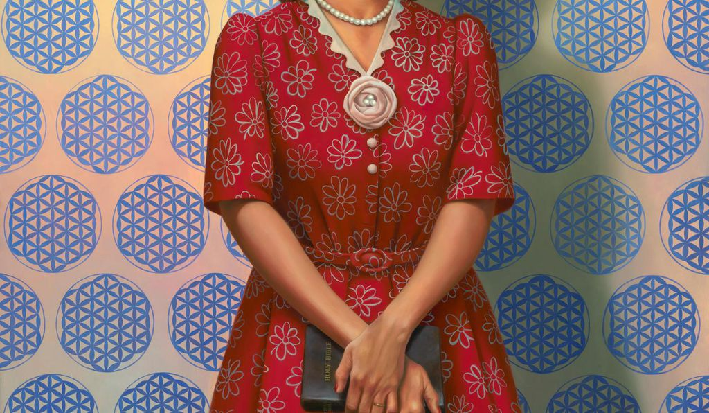 Kadir Nelson's portrait captures the grace and kindness of Henrietta Lacks while nodding to her enduring biomedical legacy.