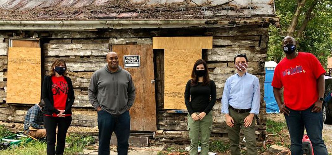 Caption: Cabin Excavation Unearths Maryland's Black History