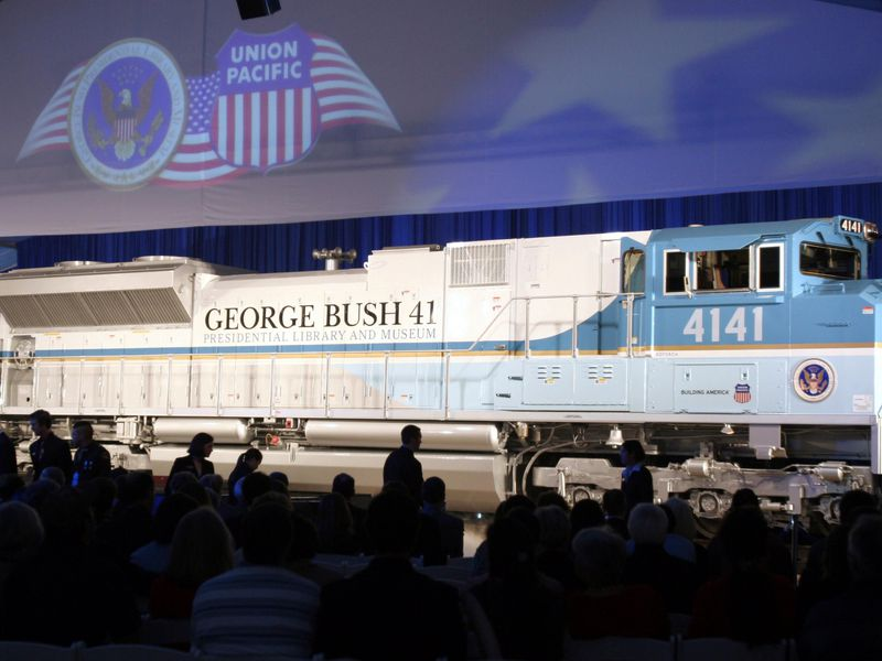 George Bush Train