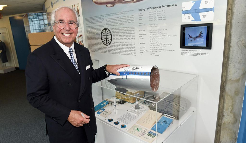 Famed Pan Am pilot impersonator Frank Abagnale in 2017.
