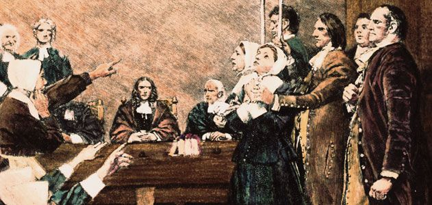 a history of salem witchcraft trials in colonial massachusetts The role of salem witchcraft trials in the history of the united states of witchcraft in colonial new england by carol f 1692 in salem, massachusetts.