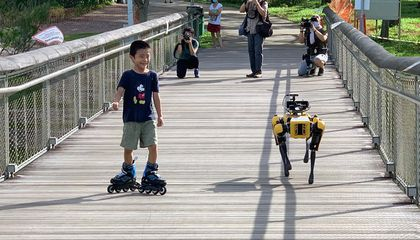 Singapore Is Using a Robotic Dog to Enforce Proper Social Distancing During COVID-19