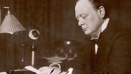 """""""Are We Alone in the Universe?"""" Winston Churchill's Lost Extraterrestrial Essay Says No"""