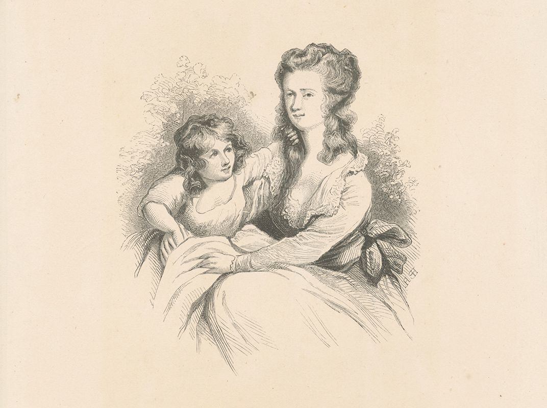 Peggy Arnold and daughter