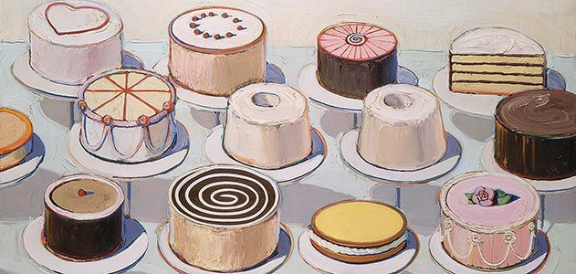 Cake Name Art : Wayne Thiebaud Is Not a Pop Artist Arts & Culture ...