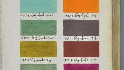 This 300 Year Old Book Is a Guide to Every Paint Color Imaginable