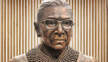 A New Sculpture in Brooklyn Honors Ruth Bader Ginsburg
