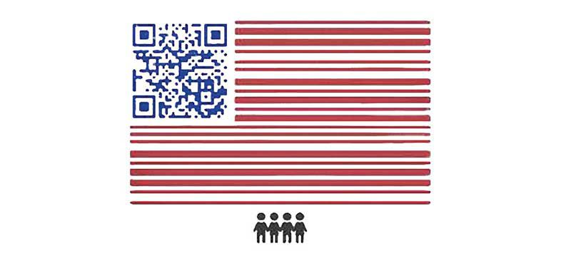 March for Our Lives Voter Registration QR code