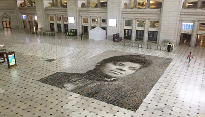 A 1,000-Square-Foot Mosaic of Ida B. Wells Welcomes Visitors to D.C.'s Union Station