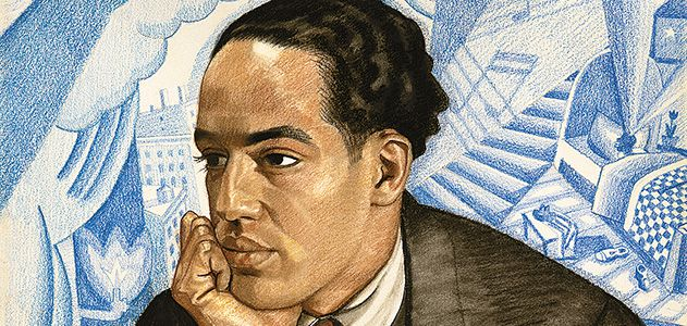Langston Hughes is one of the many poets featured in the National Portrait Gallery's