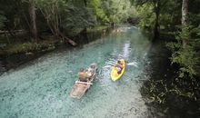 Explore Florida's Stunning Gilchrist Blue Spring in 360 Degrees