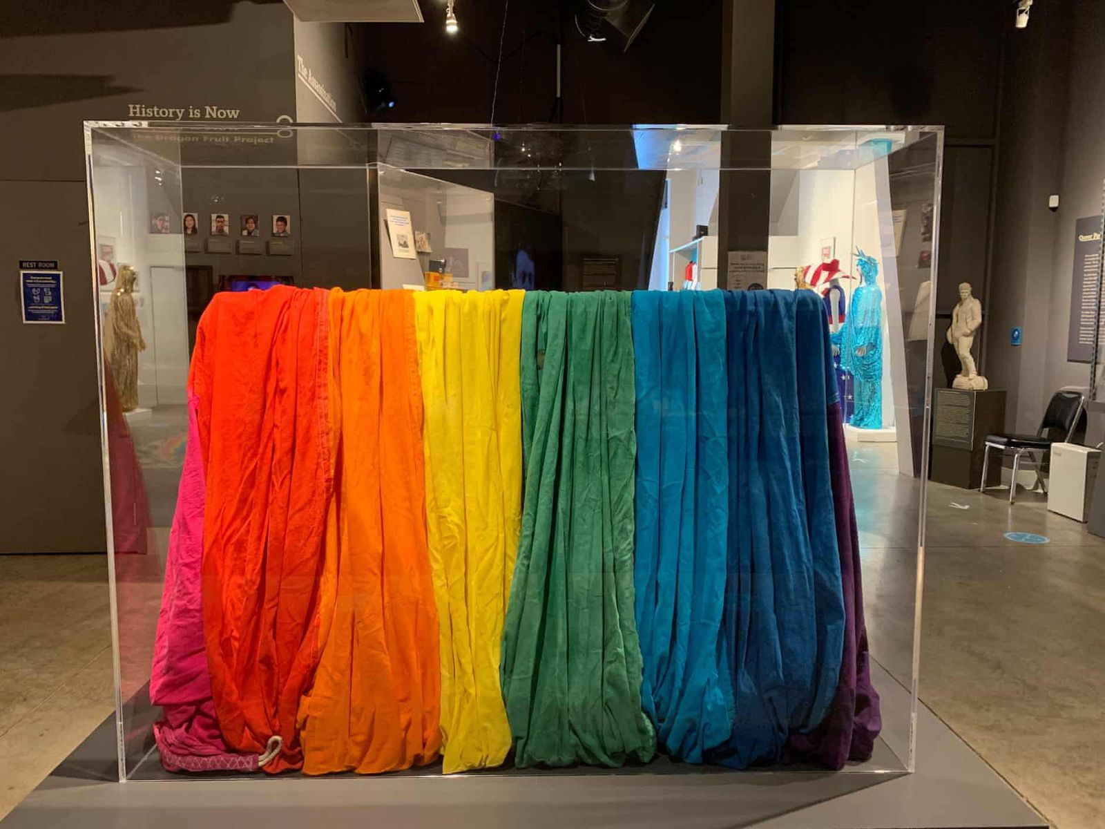Long-Lost Fragment of First Rainbow Pride Flag Resurfaces After Four Decades
