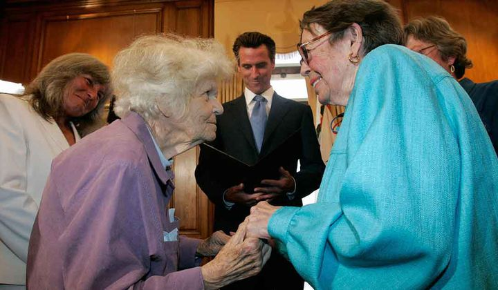 Del Martin and Phyllis Lyon's Fierce Fight