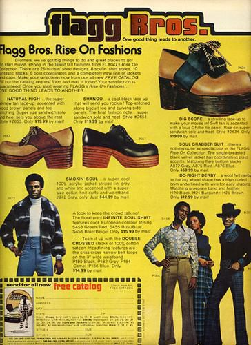 Ad for Flagg Bros. shoes, 1970s