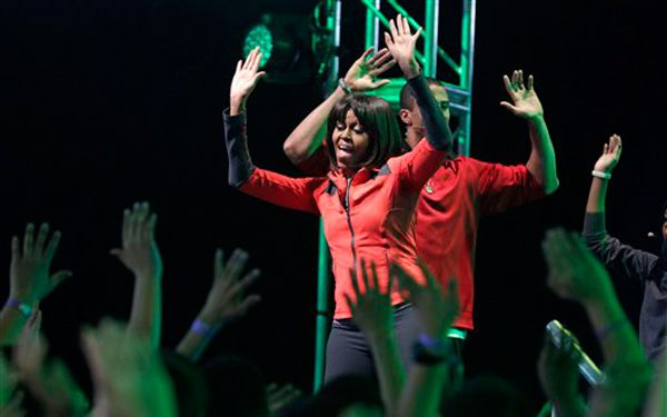 Mrs. Obama asks, How do you stay healthy?