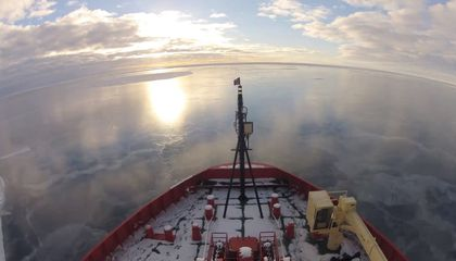 Feel What It's Like to Live on an Antarctic Icebreaker for Two Months