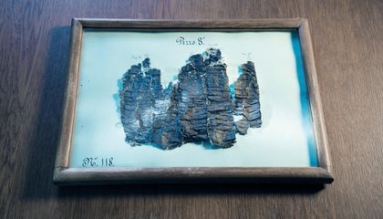 Buried by the Ash of Vesuvius, These Scrolls Are Being Read for the First Time in Millennia
