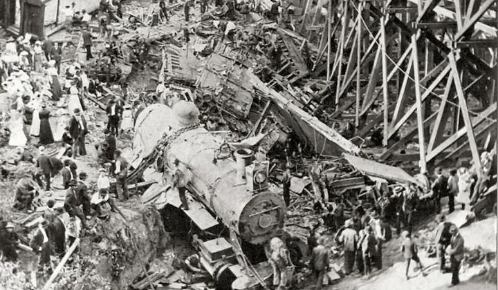 The Hammond Train Wreck Disaster of 1918