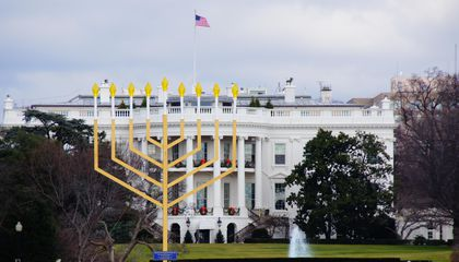 Why There's A 30-Foot Menorah on the National Mall
