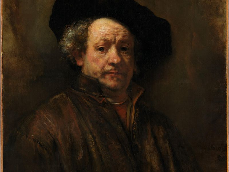 Rembrandt Self-Portrait
