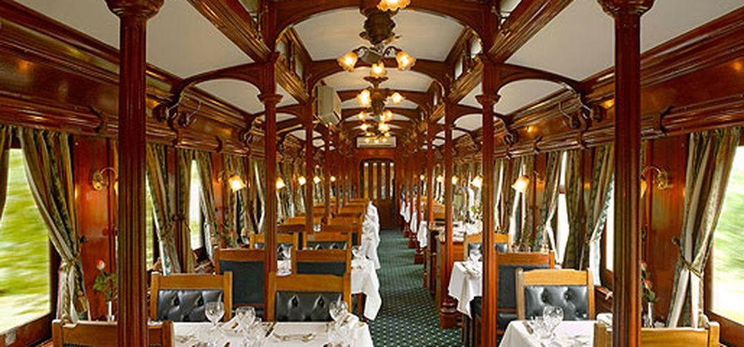 Dining car, Rovos Rail