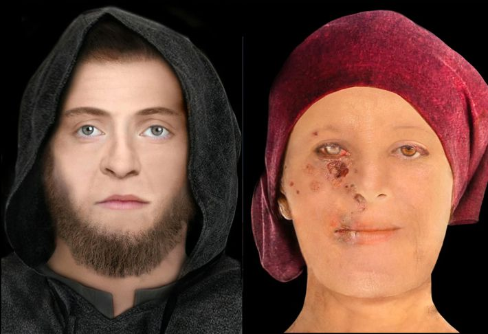Artists Reconstruct Centuries-Old Faces of Early Edinburgh Residents