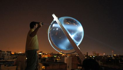 This Orb-Shaped Solar Power Device Works On The Cloudiest