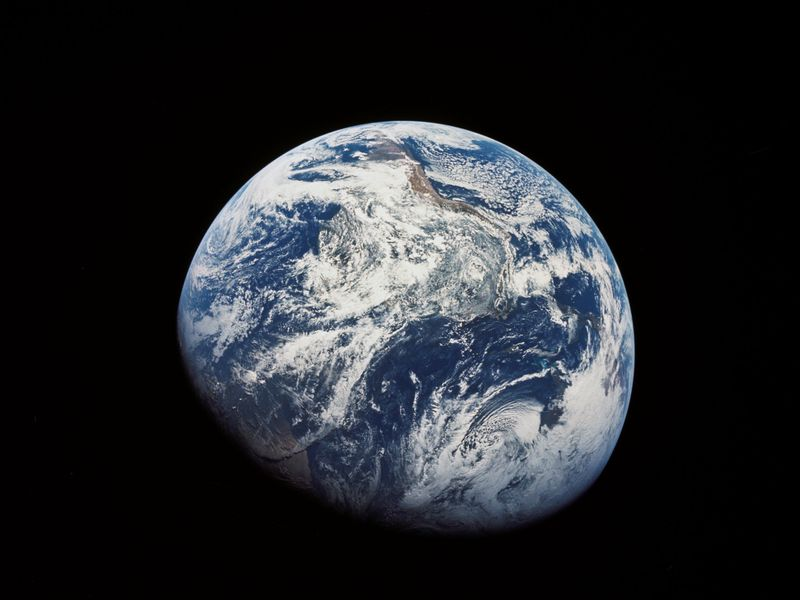 Our First Look Back at Earth | Daily Planet | Air & Space Magazine
