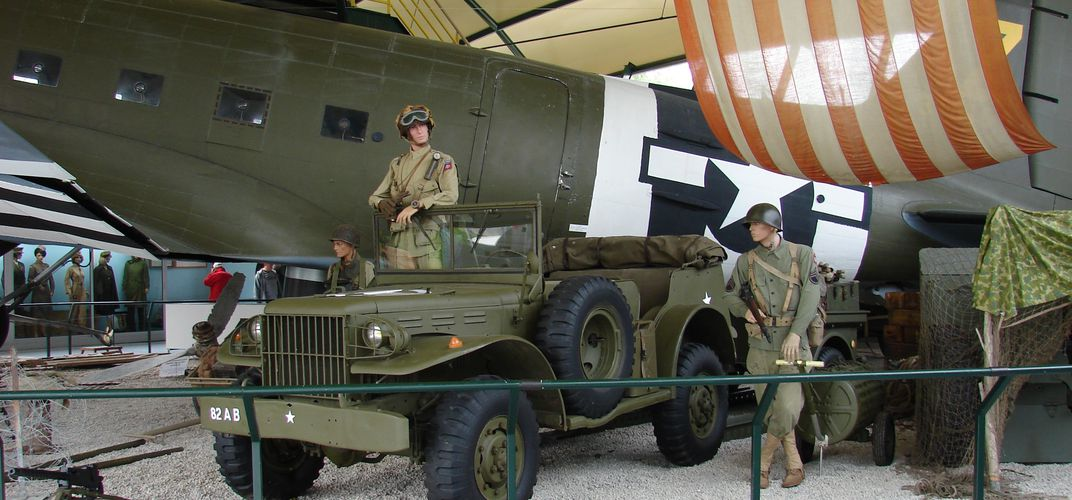 The Airborne Museum in Sainte Mère Église