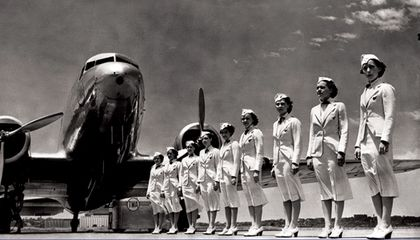 The Golden Age of Flight Attendants