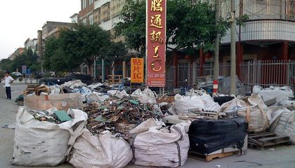 Eight Million Tons of Illegal E-Waste Is Smuggled Into China Each Year