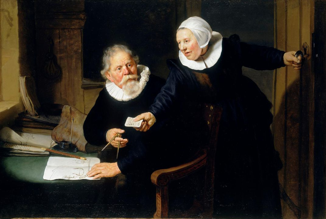 Rembrandt, The Shipbuilder and His Wife