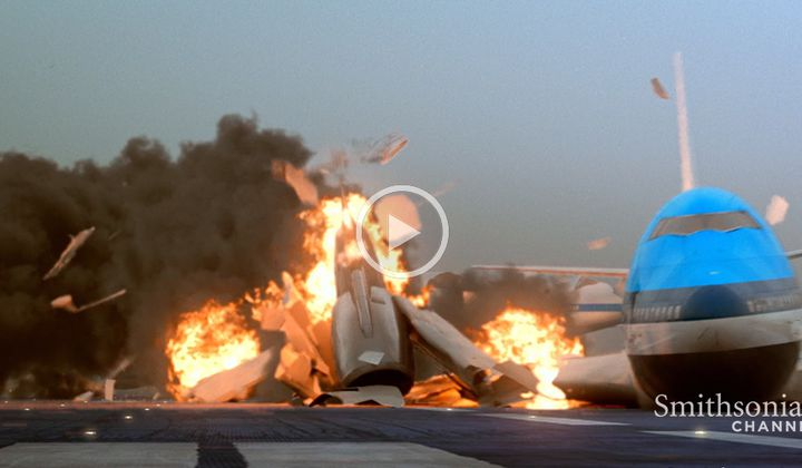 This 1977 Plane Crash Occurred Right on the Runway