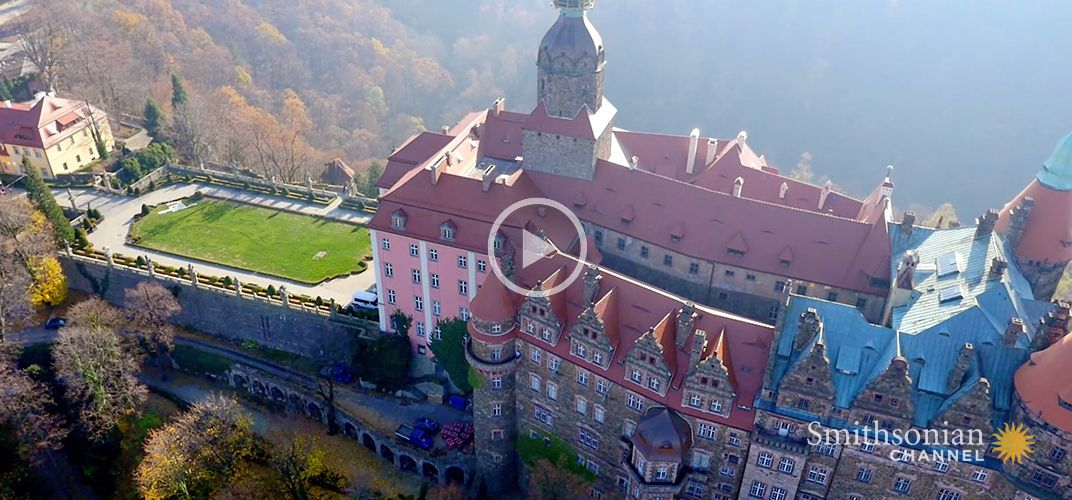 Caption: Did Nazis Hide Loot Beneath This Giant Polish Castle?