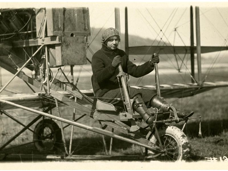 Ruth Law, Curtiss Model D NASM 00026875